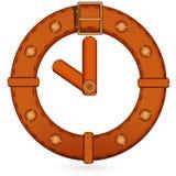 Horloge de courroie Images libres de droits