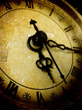 Horloge de cru Image stock