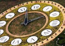 Horloge de fleur à Kiev Photos stock