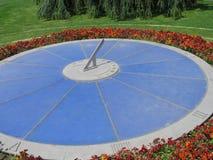 Horloge de fleur de Genève photo stock