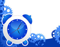 horloge de fond d'alarme Photos libres de droits