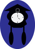 vieille horloge ancienne d 39 isolement sur le blanc photo stock image du visage rappel 38729288. Black Bedroom Furniture Sets. Home Design Ideas
