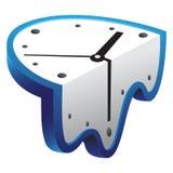 Horloge de fonte Photographie stock libre de droits