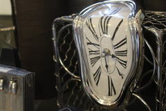 Horloge de fonte photo stock