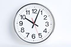 Horloge de gare Image libre de droits