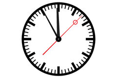 Horloge de gare Image stock