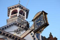 Horloge de Guildford photos libres de droits