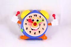 Horloge de jouet Photographie stock