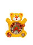 Horloge de jouet Image libre de droits