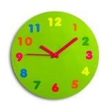 Horloge de jouet Photos libres de droits