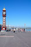 Horloge de jubilé sur l'esplanade, Weymouth Photo stock