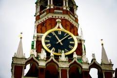 Horloge de Kremlin Images libres de droits