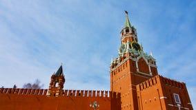 Horloge de Kremlin Photographie stock