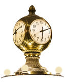Horloge de laiton de station de New York Grand Central Image stock