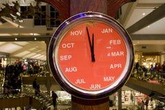 Horloge de mois Images stock