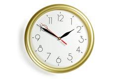 Horloge de mur photos libres de droits