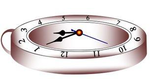 Horloge de mur Images libres de droits