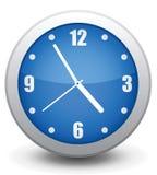 Horloge de mur de graphisme Photos stock