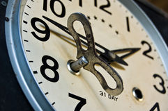 Horloge de pendule Photographie stock libre de droits