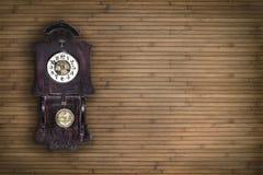 Horloge de pendule Photo stock