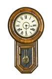 Horloge de pendule de cru Photo libre de droits
