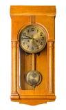 Horloge de pendule de mur Photos libres de droits