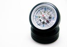 Horloge de pneu images stock