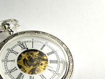 Horloge de poche image stock