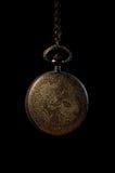 Horloge de poche de vintage Photographie stock libre de droits