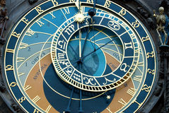 Horloge de Prague images stock