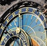 Horloge de Prague Photos stock