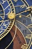 Horloge de Prague Photo stock