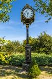 Horloge de public de Bucarest Photographie stock libre de droits