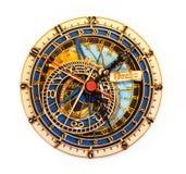 Horloge de reproduction à Prague Image libre de droits