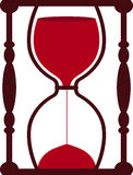 Horloge de sable illustration stock