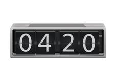 Horloge de secousse Image libre de droits