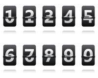 Horloge de secousse Basculement du panneau Photos stock