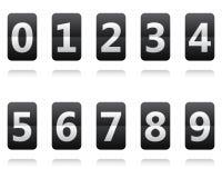 Horloge de secousse Basculement du panneau photo libre de droits