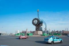 Horloge de siècle de Tianjin Image stock
