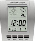Horloge de station météorologique Image libre de droits