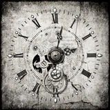 Horloge de Steampunk Images stock