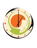 Horloge de sushi Photo libre de droits