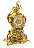 Horloge de table antique en bronze image stock