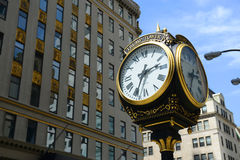 Horloge de tour d'atout, Manhattan, New York City image libre de droits