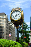 Horloge de tour d'atout, Manhattan, New York City photographie stock libre de droits
