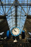 horloge de Train-station photos stock