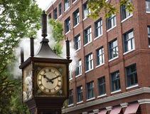 Horloge de vapeur Photographie stock
