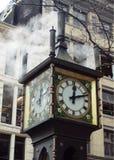 Horloge de vapeur de Gastown Images libres de droits