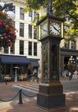 Horloge de vapeur de Gastown - Vancouver - Canada Image stock