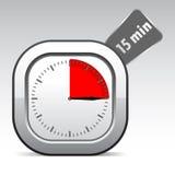 Horloge de vecteur Images stock